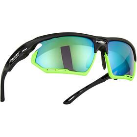 Rudy Project Fotonyk Glasses matte black/lime/polar3FX HDR multilaser green
